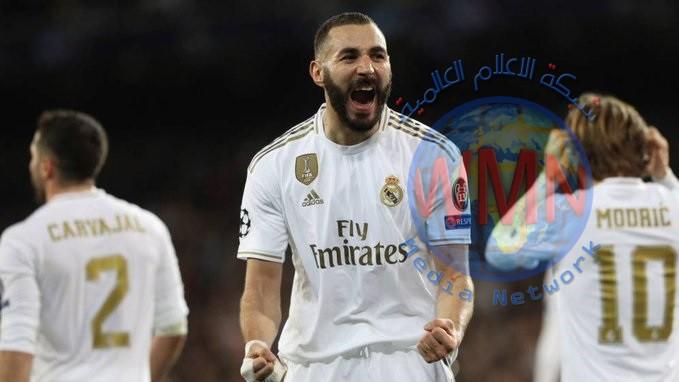 ريال مدريد يدك شباك خيتافي بثلاثية