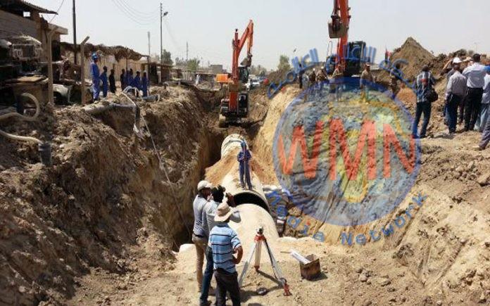 افتتاح مشروع مجاري الحسينية في بغداد قريبا