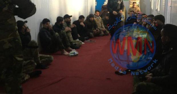اللواء 26 في الحشد الشعبي ينظم دورة جديدة للإسعاف الحربي لمقاتليه