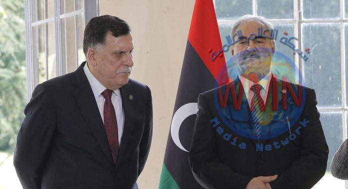 السراج وحفتر يبديان استعدادهما لحل مشكلة النفط في ليبيا
