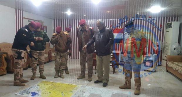 الحشد الشعبي والقوات الامنية يشرعان بعملية امنية لتأمين جزيرة النجف وصحراء كربلاء