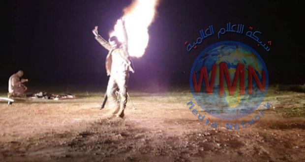 """عمليات سامراء للحشد الشعبي تدك مفرزة """"داعشية"""" بقنابر الهاون شمال سامراء"""