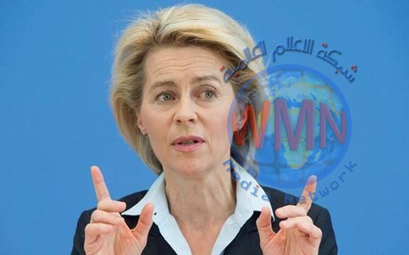 وزيرة الدفاع الألمانية تصل الى بغداد في زيارة مفاجئة