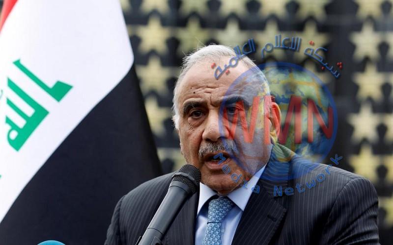 """عادل عبد المهدي يوعز بمتابعة اوضاع العراقيين في الصين إثر تفشي """"كورونا"""""""