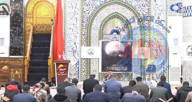 اقامة محفل قرآني على ارواح القادة الشهداء
