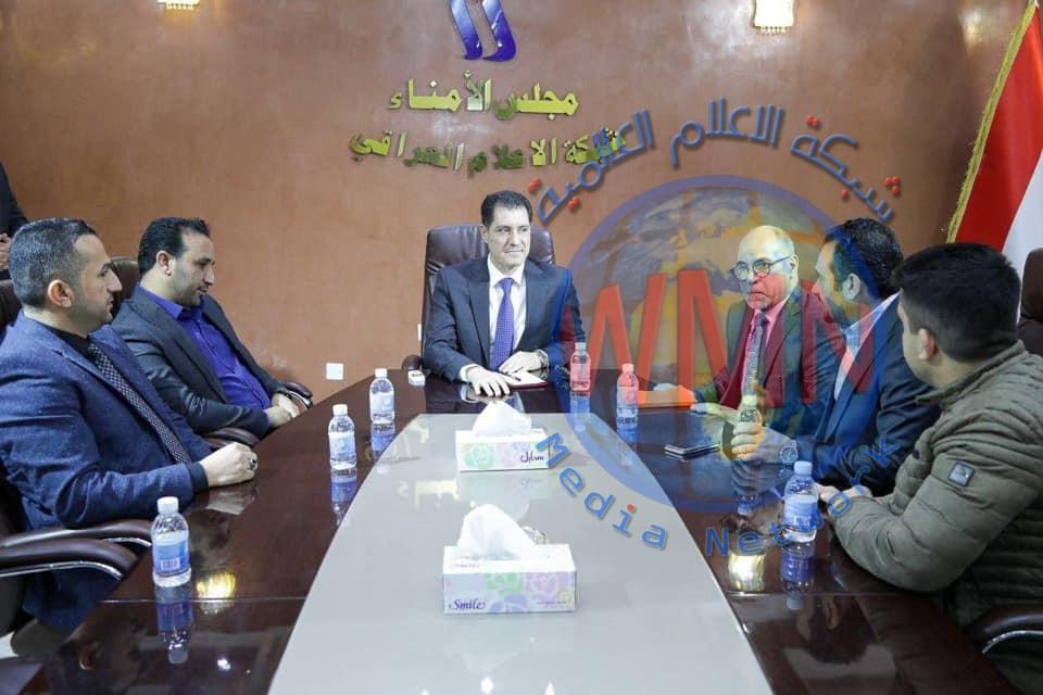 وزير التخطيط يدعو إلى تعزيز سلطة الإعلام كشريك حقيقي للسلطات الثلاث في بناء الوطن وخدمة المواطن