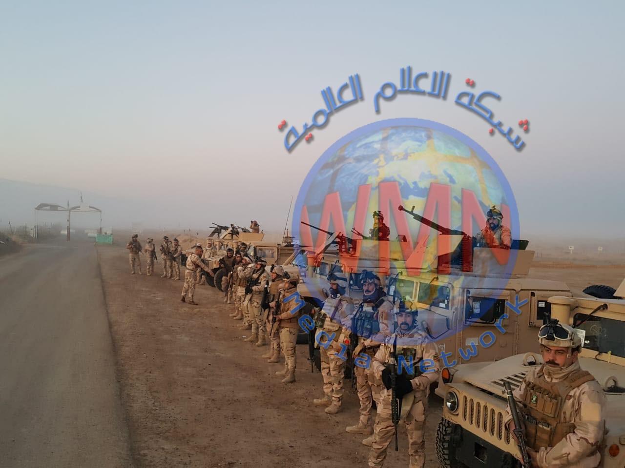 تعزيزات أمنية على الشريط الحدودي مع سوريا في الانبار