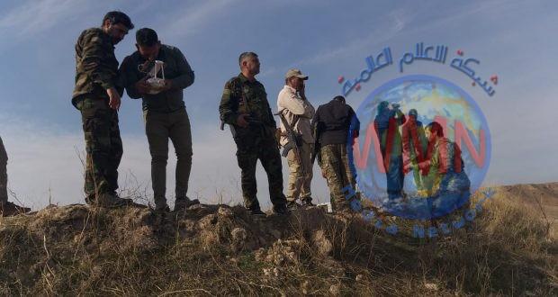 بغطاء الطيران المسير.. الحشد الشعبي يلاحق فلول داعش في أودية خانقين