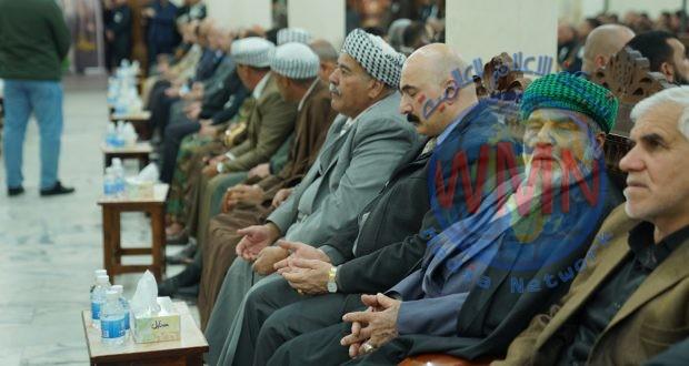 تركمان العراق يقيمون مجلس عزاء كبير على ارواح القادة الشهداء