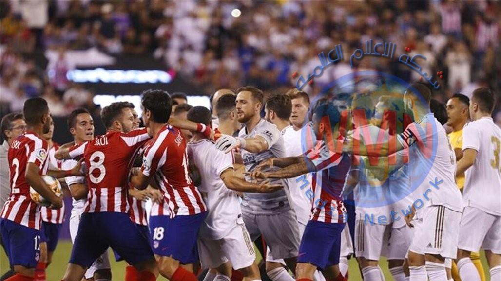 ريال مدريد ينال من جاره الاتلتيكو بركلات الترجيح ويعانق كأس السوبر