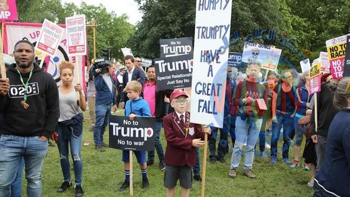 الأميركيون ينظمون 180 وقفة احتجاجية ضد سياسات ترامب