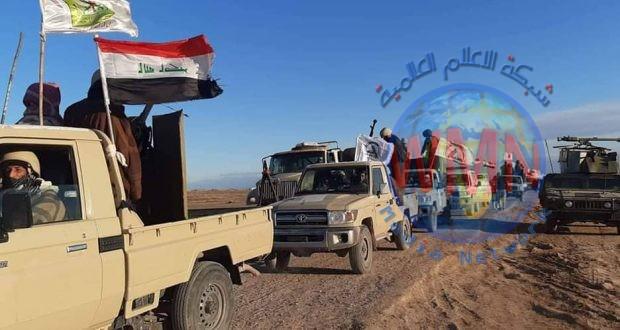 الحشد الشعبي والجيش يطلقان عملية امنية لتفتيش وتطهير جزيرة نينوى من فلول داعش
