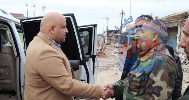 محافظ صلاح الدين يشيد بدور الحشد الشعبي بحفظ الأمن في قضاء بيجي وتعاونه مع الأهالي