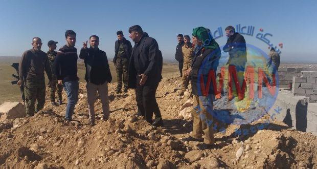 """الحشد الشعبي ينشئ تحصينات في ديالى لردع تحركات """"داعش"""""""