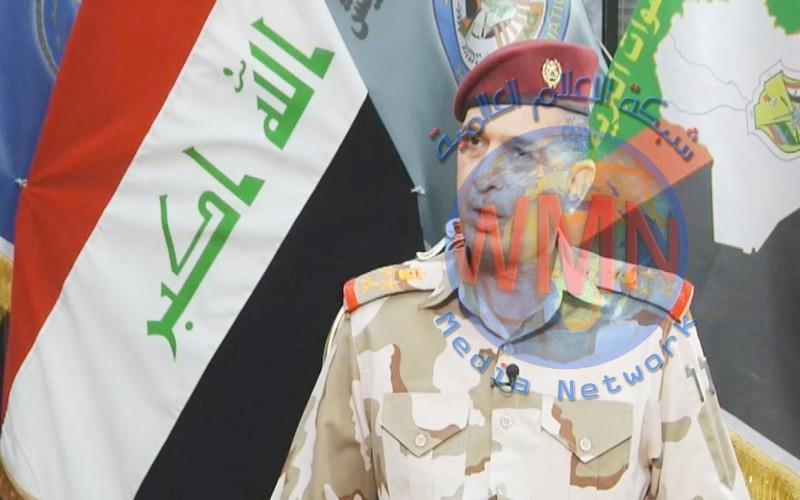 فريق اول ركن عثمان الغانمي يعزي في ذكرى اربعينية القادة الشهداء