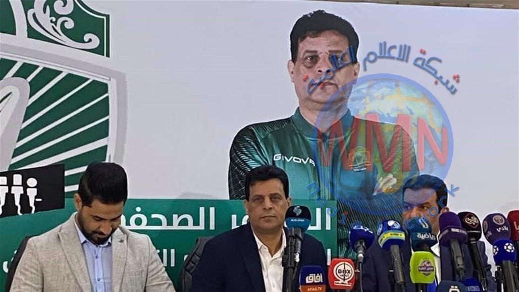 عبد الغني شهد: الحفاظ على اللقب أحد اهداف الشرطة وسنتعاقد مع لاعبين جدد