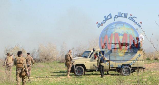 قوة من اللواء 23 في الحشد تعثر على مضافات لداعش بعملية أمنية في خانقين