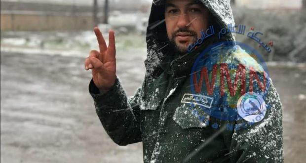 بالصور.. مقاتلون يكسرون موجة البرد في نينوى