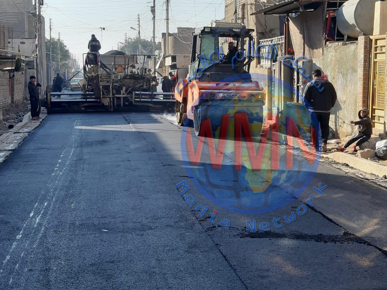 امانة بغداد تعلن عن انجاز تطوير 9 قطاعات سكنية جديدة في مدينة الصدر