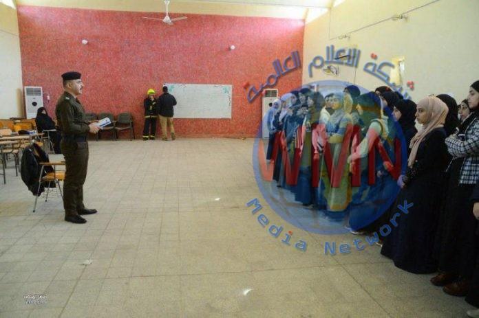 الدفاع المدني في كربلاء يطلق حملة تثقيفية حول كورونا