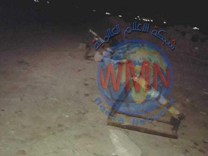سقوط ثلاثة صواريخ كاتيوشا بالقرب من مركز للشرطة غربي الانبار