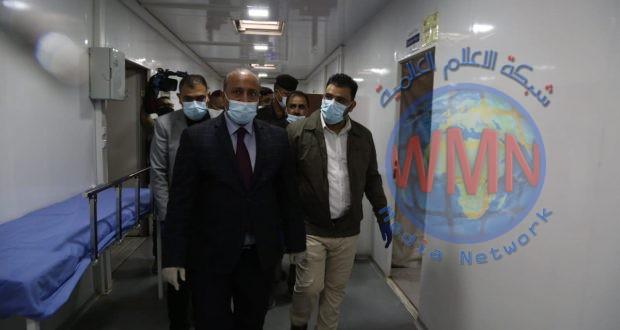 محافظ كربلاء يزور مستشفى الحشد في المحافظة ويعده انجازا طبيا كبيرا