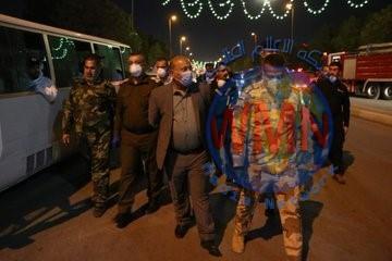 محافظ كربلاء يشيد بدور الحشد في مواجهة كورونا ويدعو المواطنين للتعاون لعبور مرحلة الخطر