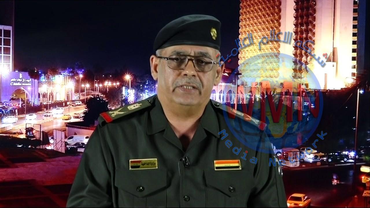 الناطق باسم القائد العام للقوات المسلحة اللواء الركن عبد الكريم خلف يعلن مغادرة القوات الفرنسية الأراضي العراقية