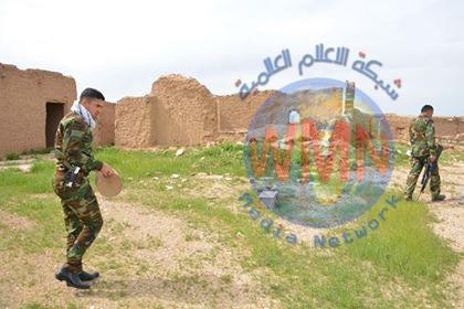 """الحشد يضبط مضافات لـ""""داعش"""" ويستولي على عبوات وصواريخ في اطراف آمرلي (صور)"""
