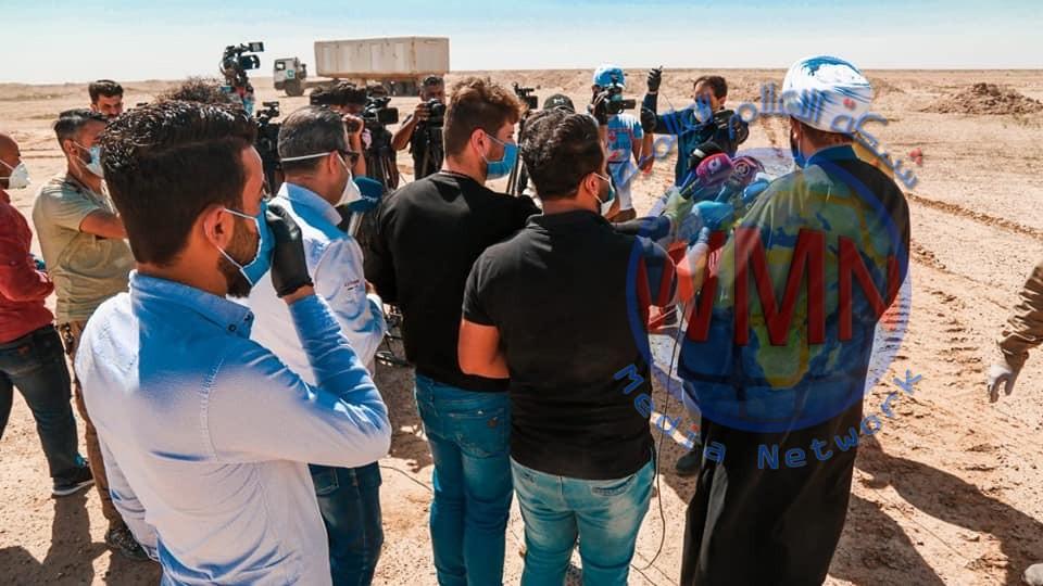 الحشد الشعبي يعلن المباشرة بدفن جثامين ضحايا فايروس كورونا في النجف الاشرف