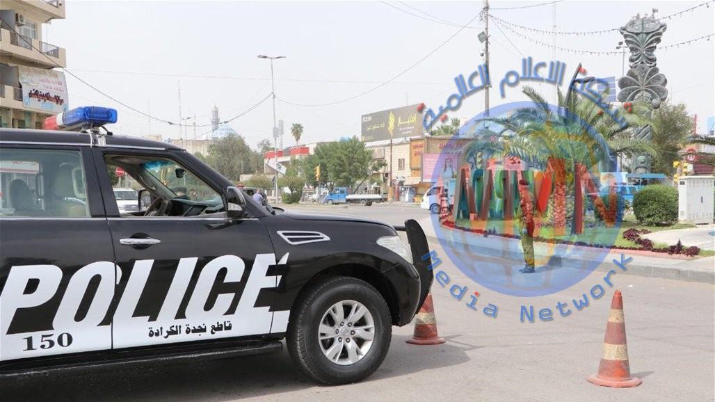 نجدة بغداد تلقي القبض على ١٤ مخالفا لحظر التجوال