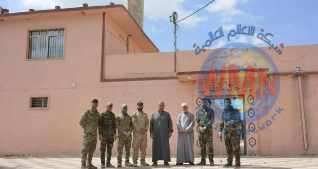 اللواء 30 بالحشد الشعبي يعفر دور العبادة في ناحية بعشيقة شمال شرق الموصل