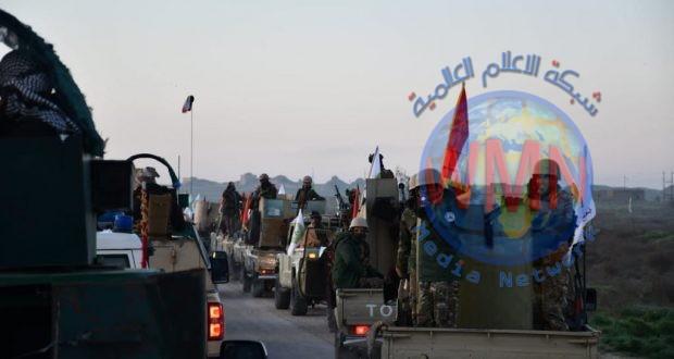 اللواء 44 بالحشد يعثر على مضافة لداعش تضم أسلحة متنوعة في الصحراء الكبرى