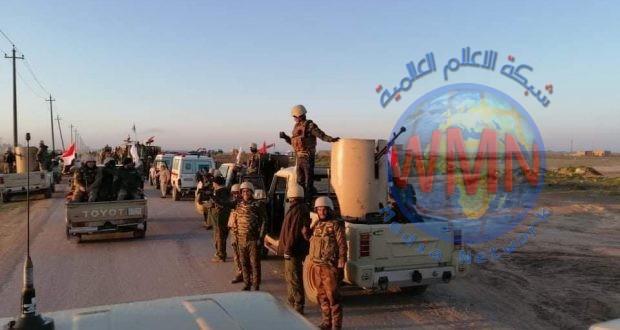 اللواء 35 بالحشد الشعبي يدمر مضافة لداعش كانت تضم صواريخ في الجزيرة الكبرى