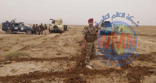 الحشد الشعبي والجيش ينفذان عملية دهم وتفتيش في صحراء غرب الانبار