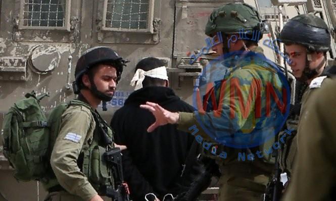قوات الاحتلال تعتقل 7 فلسطينيين من الضفة