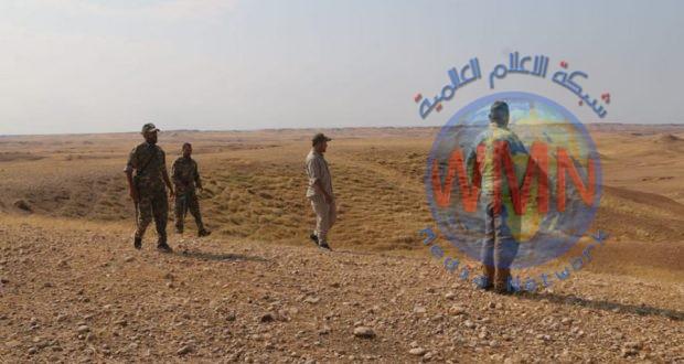 اللواء 314 ينفذ عملية دهم وتفتيش واسعة في سامراء عقب استشهاد ثلاثة من مقاتليه