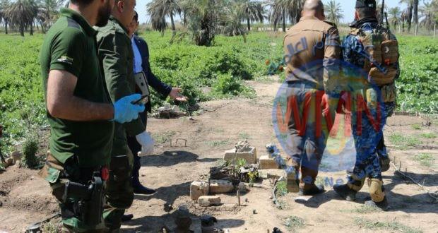 اللواء 41 بالحشد الشعبي يحبط مخططا إرهابيا لاستهداف مقار الحشد الشعبي والقوات الأمنية في صلاح الدين