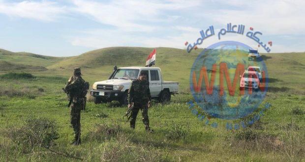 """اللواء 21 بالحشد الشعبي يتعقب فلول """"داعش"""" في حمرين"""