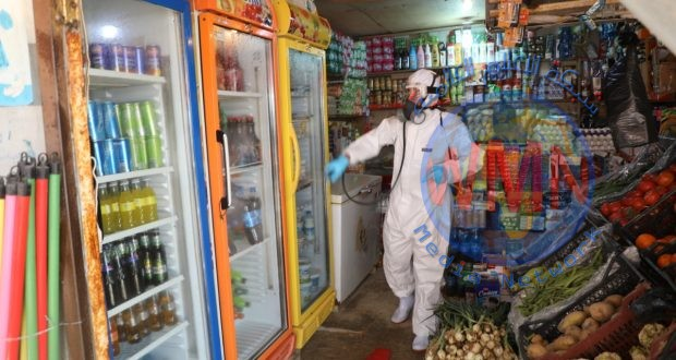 الدفاع المدني في كربلاء يشيد بجهود الحشد الشعبي في مكافحة كورونا