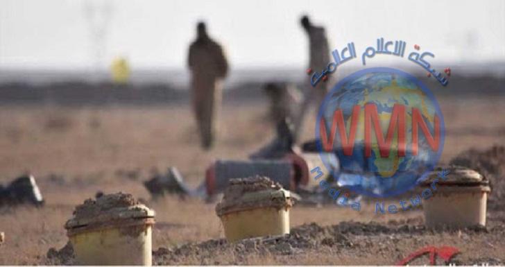 العثور على كدس للعبوات الناسفة غربي الموصل