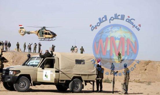 الحشد وباسناد من طيران الجيش يقتل عنصرين بداعش شرق صلاح الدين