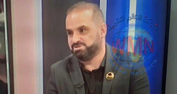مدير اعلام الحشد مهند العقابي: الشعب العراقي أصبح أكثر وعيا والحشد ازداد قوة بعد استشهاد المهندس