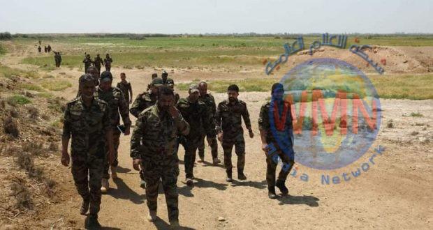 """عمليات سامراء للحشد تستطلع منطقة """"الكوش"""" خارج قاطع المسؤولية"""