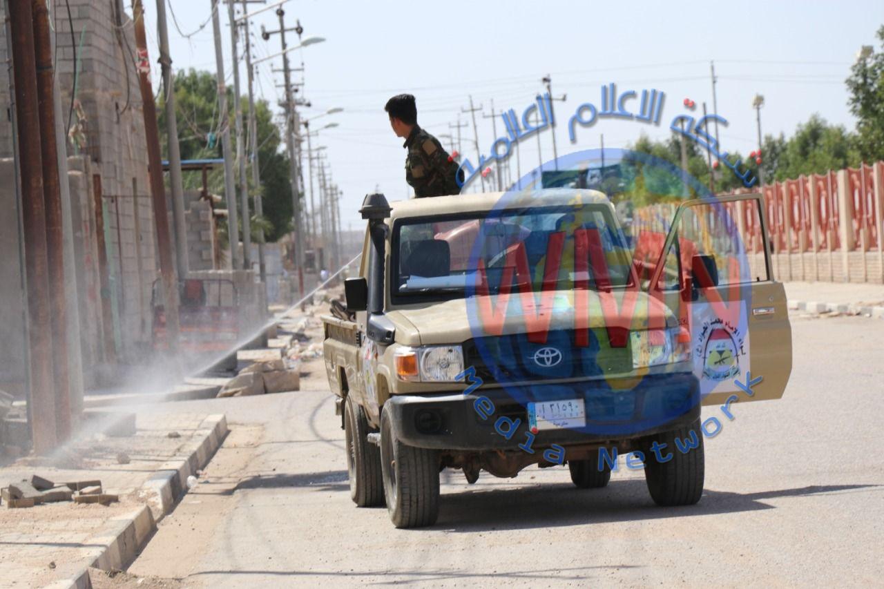 اللواء الأول بالحشد الشعبي يعفر 31 موقعا في البصرة (صور)