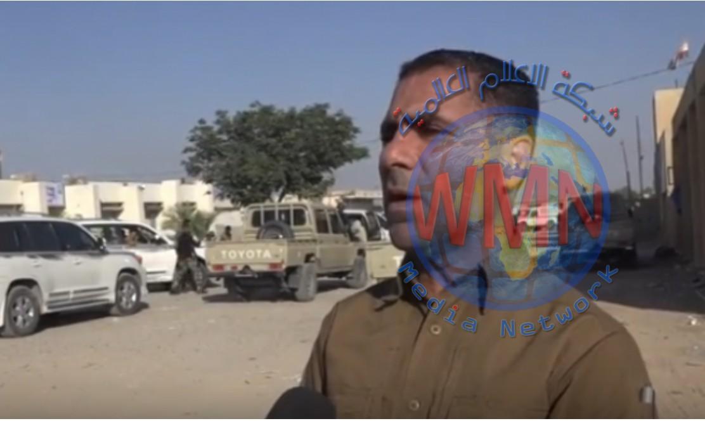 الحشد والقوات الأمنية يباشران بعملية دهم وتفتيش شمال المقدادية