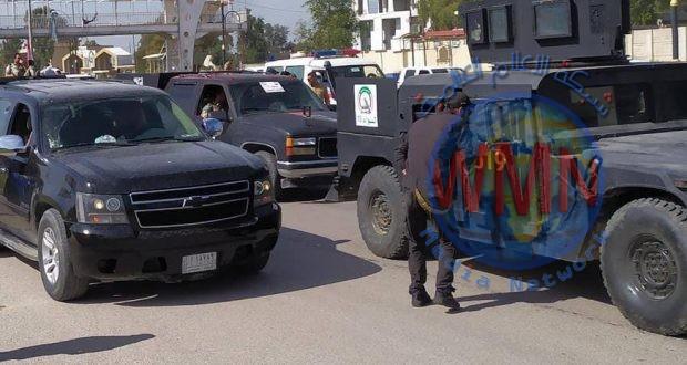 قاطع عمليات الشمال للحشد يطلق حملة تعفير وتوعية واسعة للحد من كورونا في كركوك