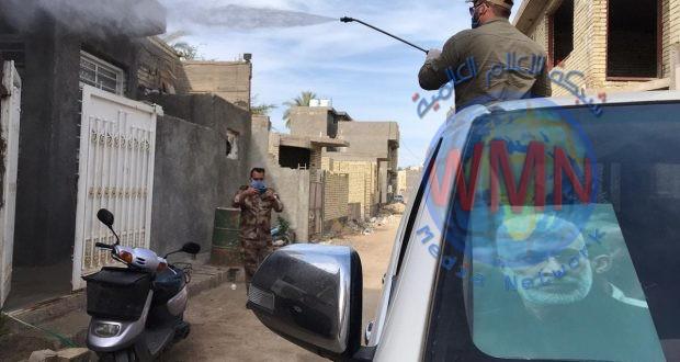 اللواء 40 بالحشد الشعبي يعفر مناطق مركز كربلاء (صور)