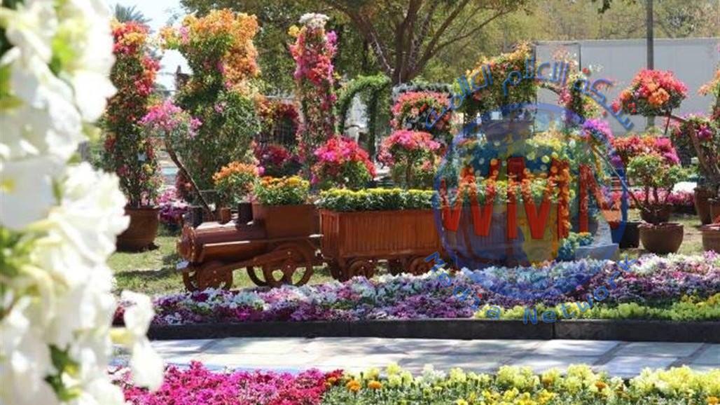 """بغداد تتحدى كورونا.. تكثير ونشر 350 الف زهرة وشجرة معمرة """"صور"""""""