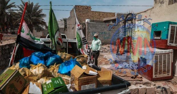 اللواء الثاني يواصل توزيع السلات الغذائية على العوائل الفقيرة والمتعففة (صور)